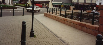 Bollards and Railings in Oban